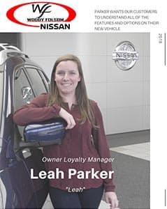 Leah Parker Bio Image