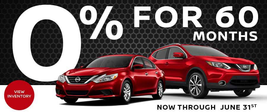0% for 60 Months at Jefferson City Nissan
