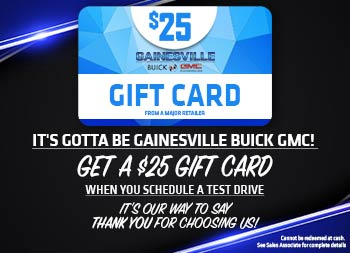 $25 Gift Card at Gainesville Buick GMC