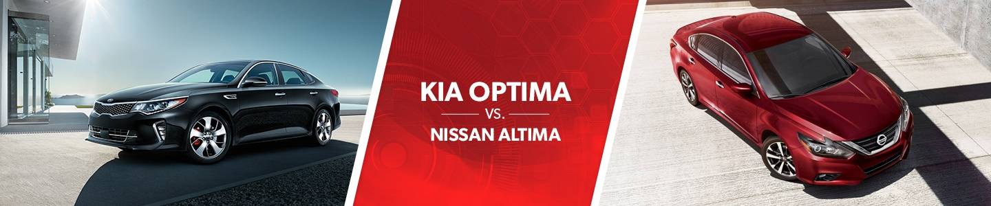 Kia Optima Vs. Nissan Altima comparison