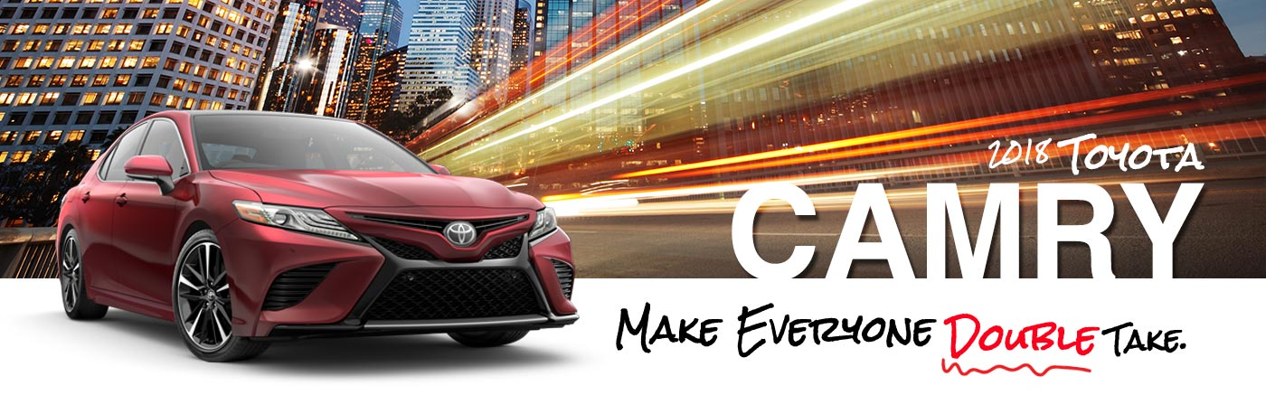 Explore All Ten 2018 Toyota Camry Models In Longview, TX