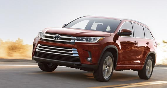 2019 Toyota Highlander safety features