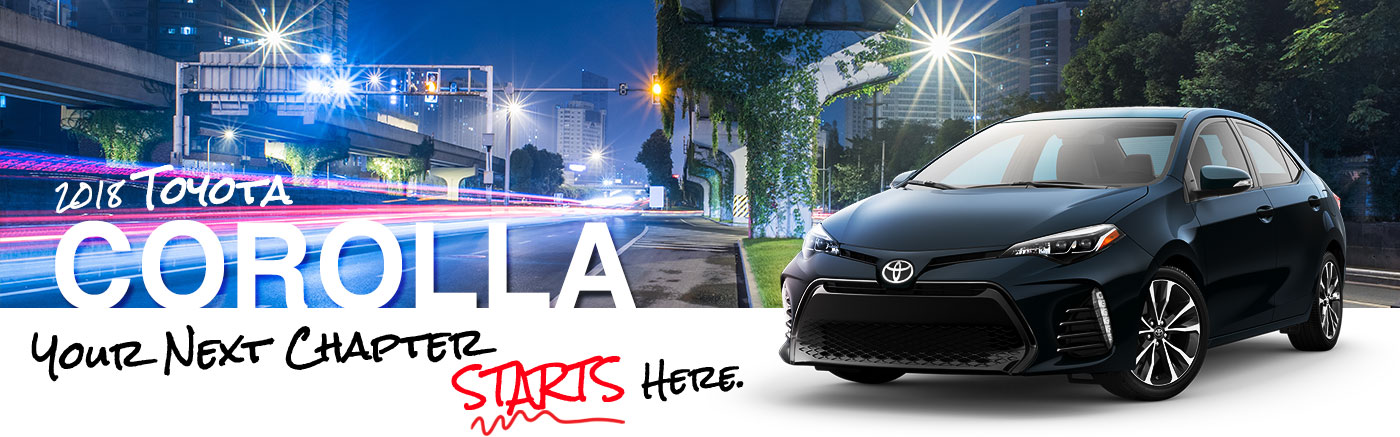 Find A Stylish Corolla At Mark McLarty Toyota Today