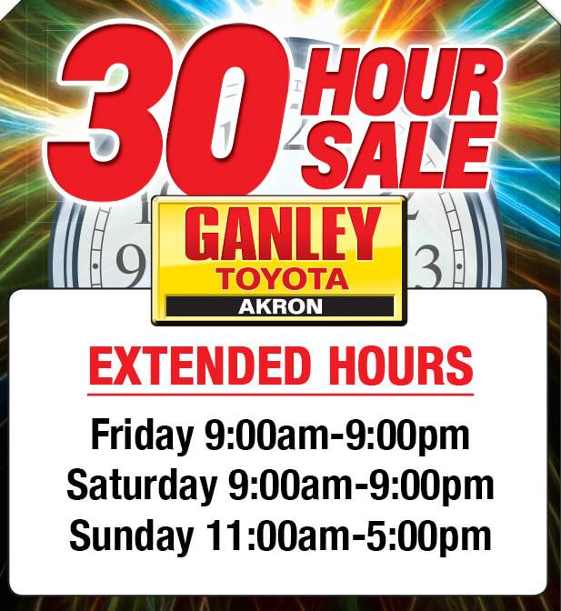 Ganley Toyota Extended Hours
