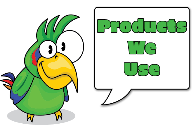 FAQ cartoon bird