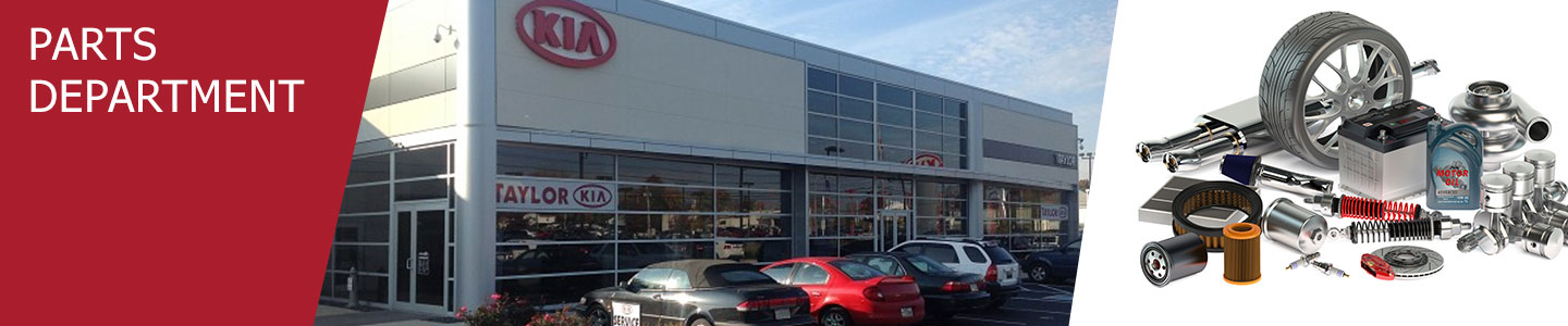 Parts Department at Matt Taylor Kia in Lancaster, OH
