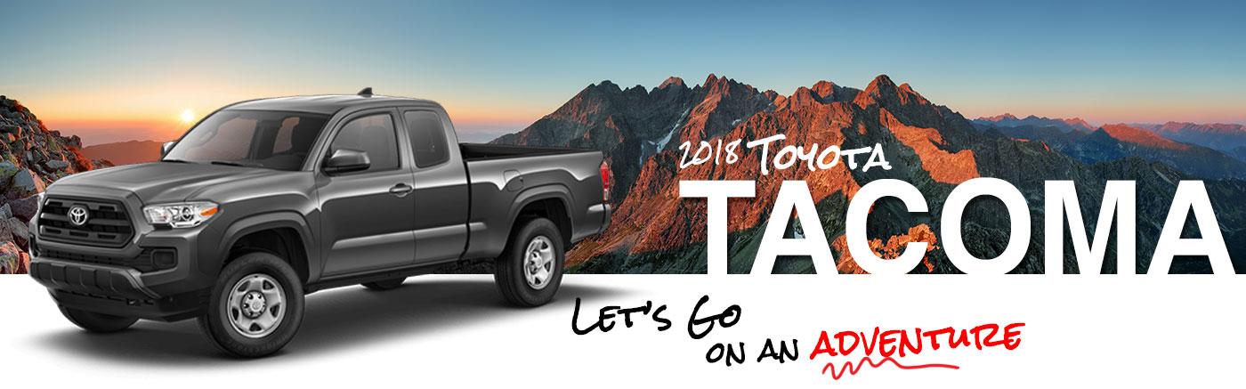 Franklin Toyota | 2018 Tacoma On Road