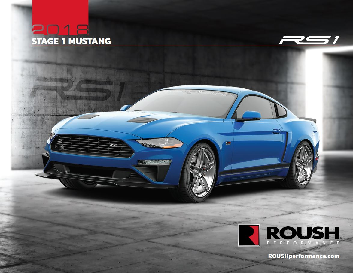 2018 ROUSH® STAGE 1 MUSTANG