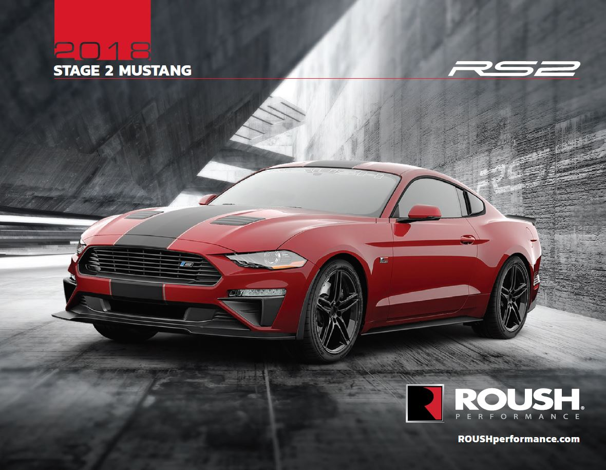2018 Roush 174 Stage 2 Mustang