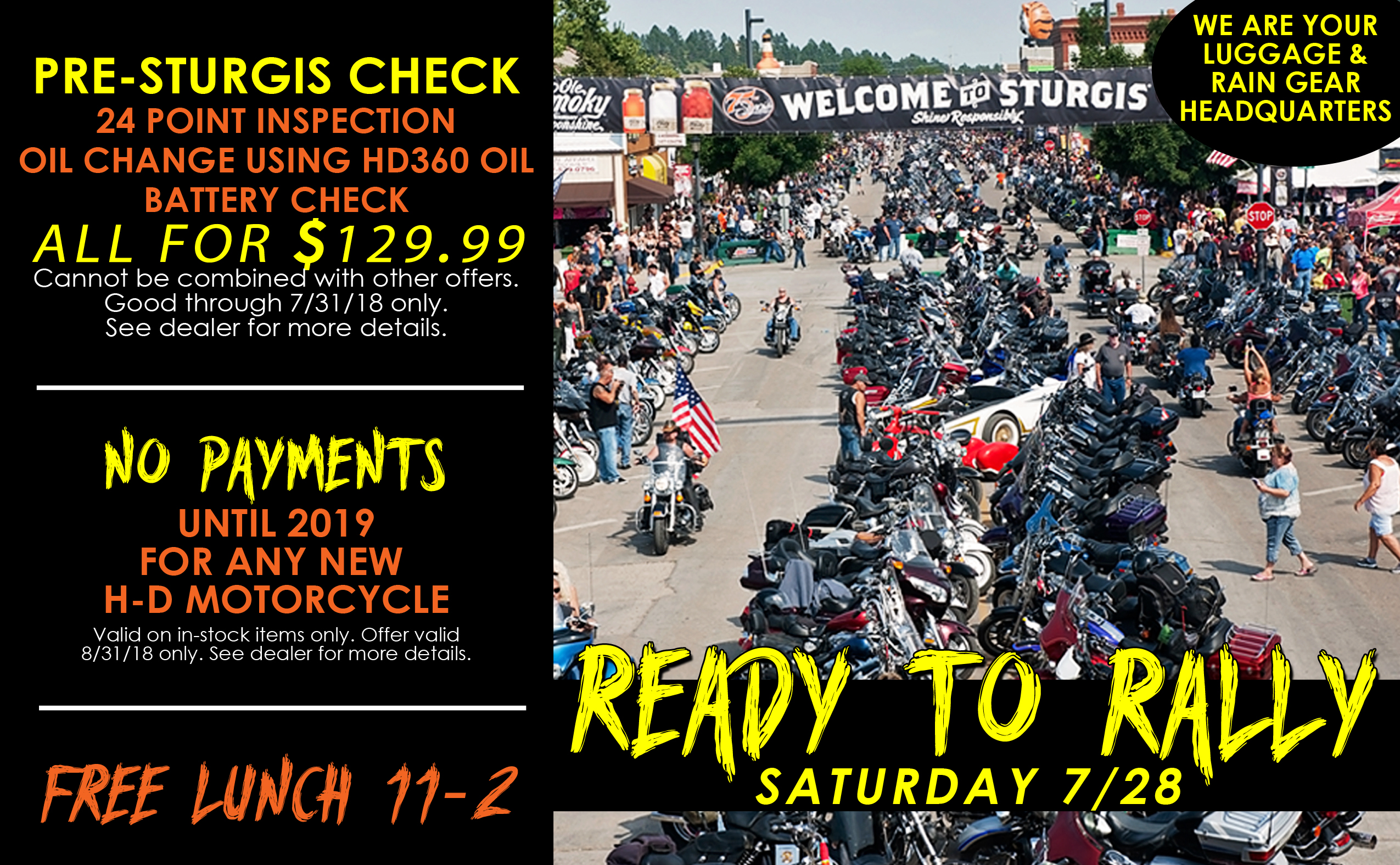 Calendar of Events for Motorcycle Riders   Gateway Harley-Davidson