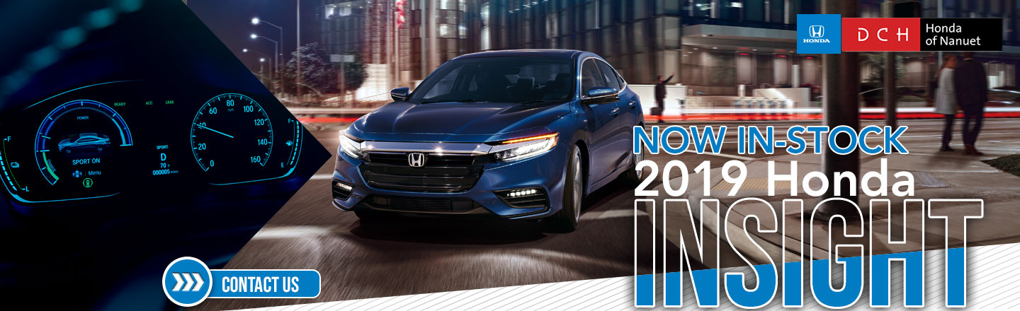 2019 Honda Insight Now In Stock