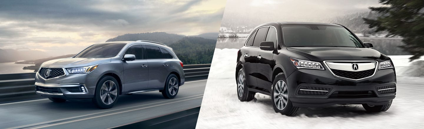 2016 Acura Mdx 3 5l Vs 3 5l Technology Package