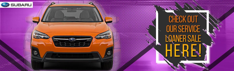 Service Loaner Cars For Sale In Jackson MS Paul Moak Subaru - Car show jackson ms