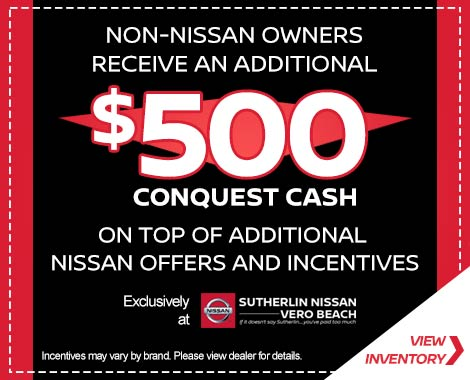 Sutherlin Nissan Vero Beach Incentives offers