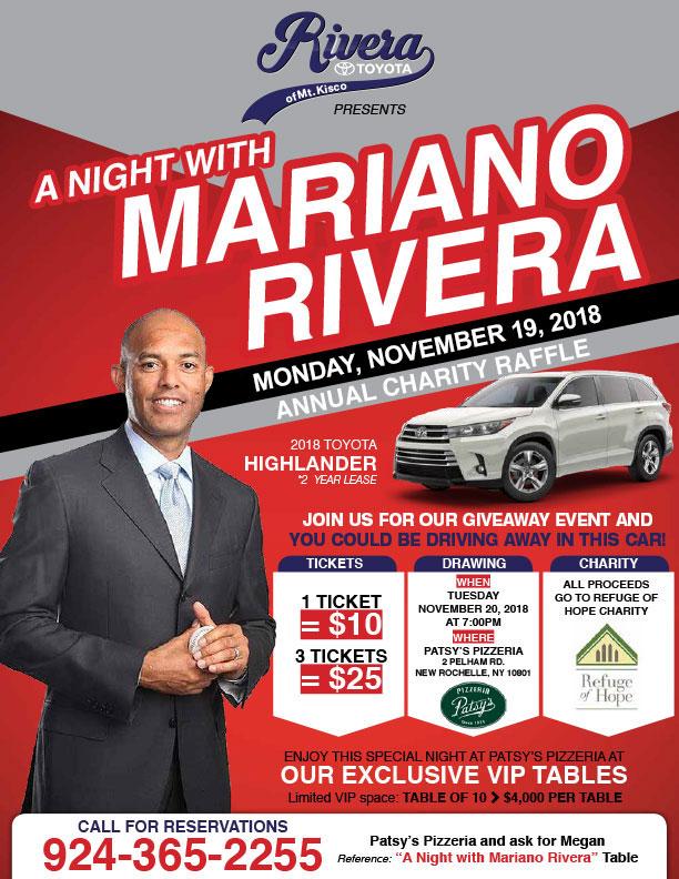 A night with Mariano Rivera