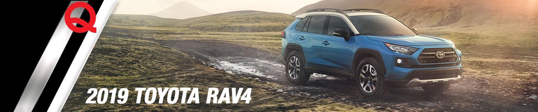 2018 Toyota Rav4 blue dirt road mud mountain