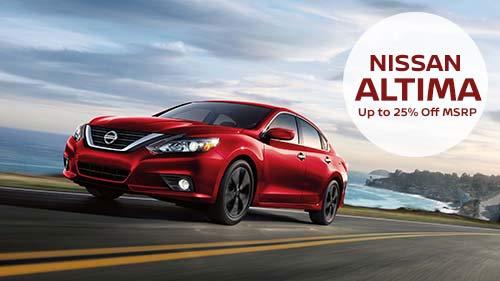 Schedule Service New Car Specials · 2018 Nissan Titan