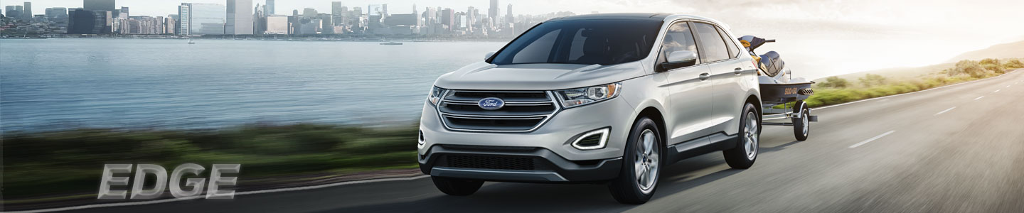 2018 ford edge road city silver SUV
