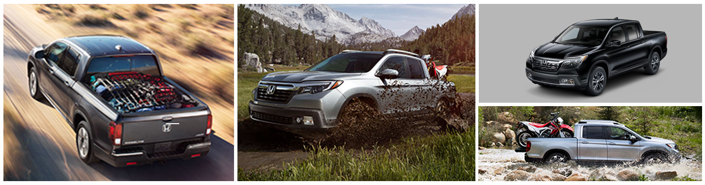 2018 Honda Ridgeline - Gallery of multiple vehicles