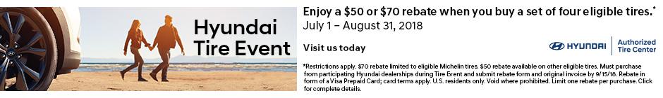 Hyundai Tire Event