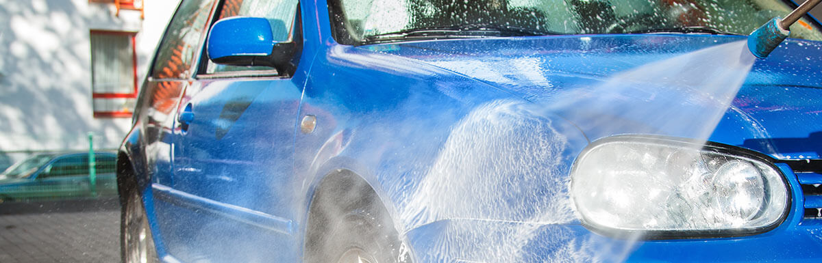 26th Street Auto Center, wash your vehicle regularly