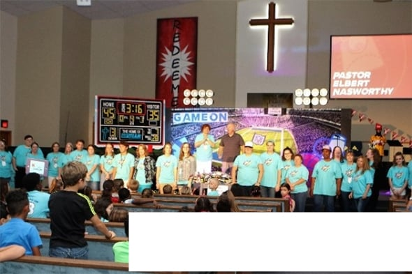 appreciation for continued support of the children vacation bible school