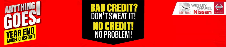 bad credit dont sweat it no credit no problem