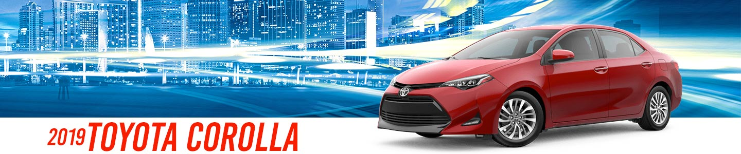 2019 Red Exterior corolla On Road at Stevinson East Toyota