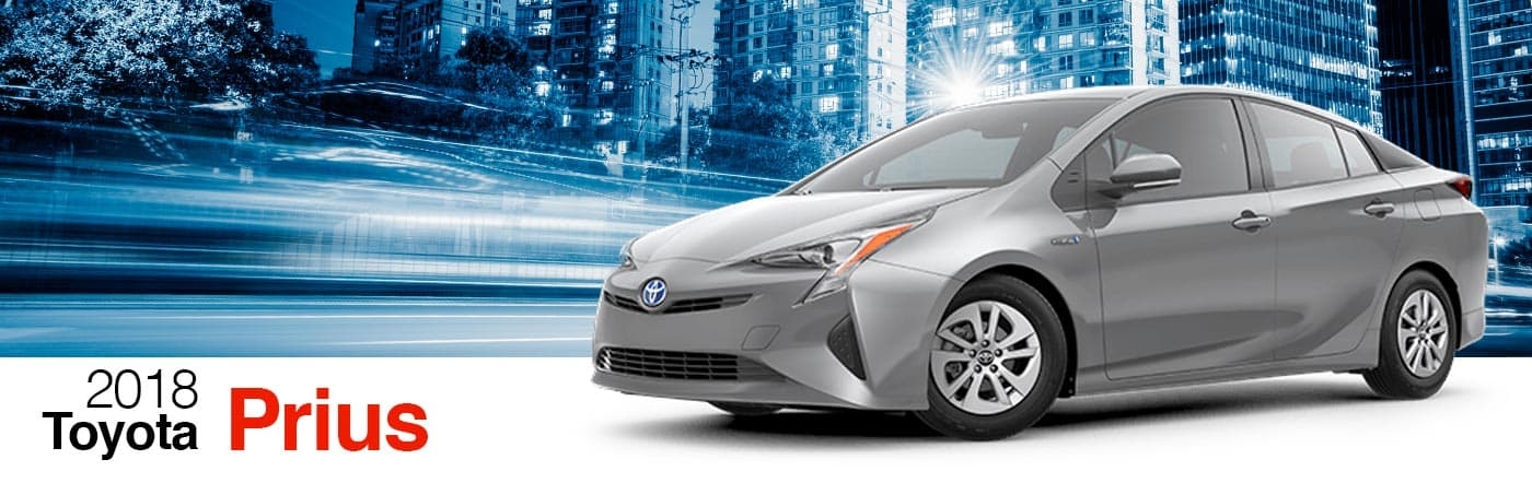 2018 Gray Exterior Prius On Road at Stevinson Toyota