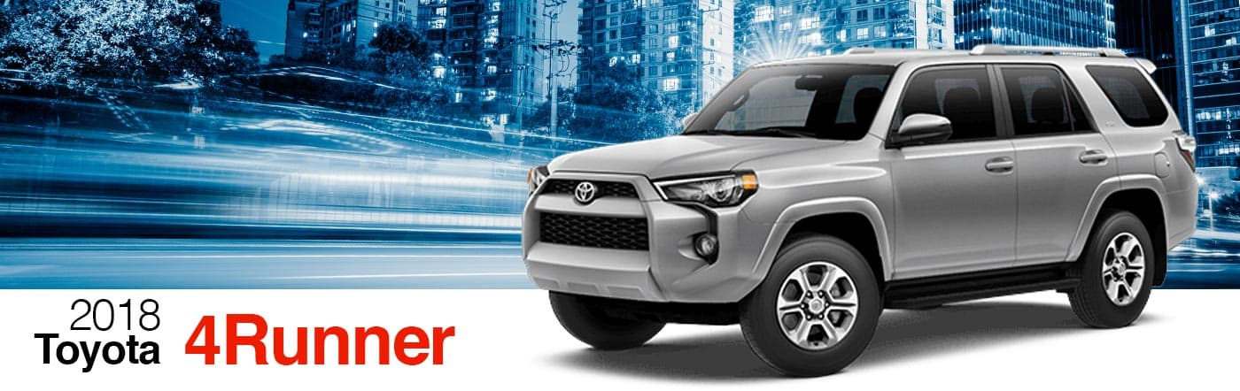 2018 Gray Exterior 4Runner On Road at Stevinson Toyota