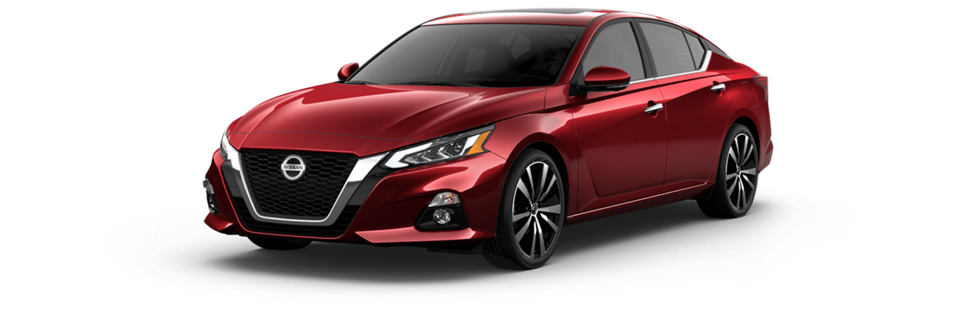 Red Nissan Altima 2019 Model car picture