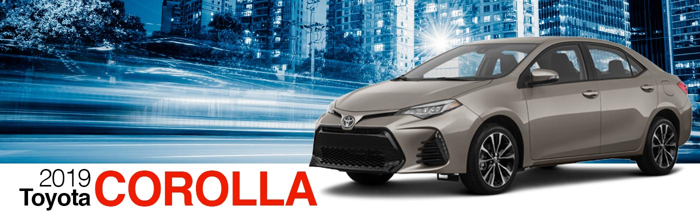 2019 Gray Exterior Corolla On Road at Stevinson Toyota