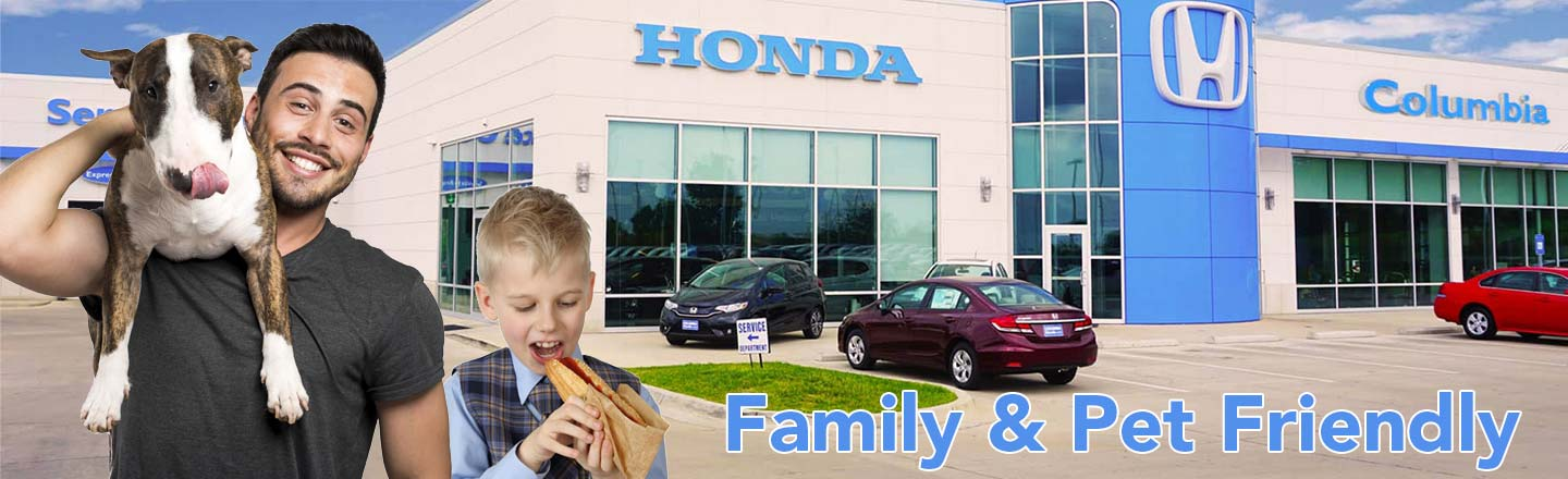 Beautiful Columbia Honda Family And Pet Friendly