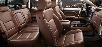 2019 Chevrolet Silverado Interior Henna Chevrolet