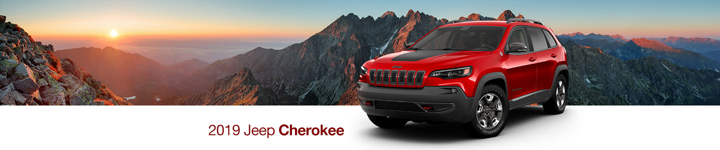 Forge Forward On Your Journey With The Striking 2019 Jeep Cherokee