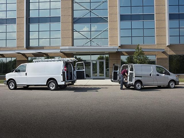 Chevrolet commercial vans