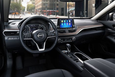Nissan altima 2019 model interior