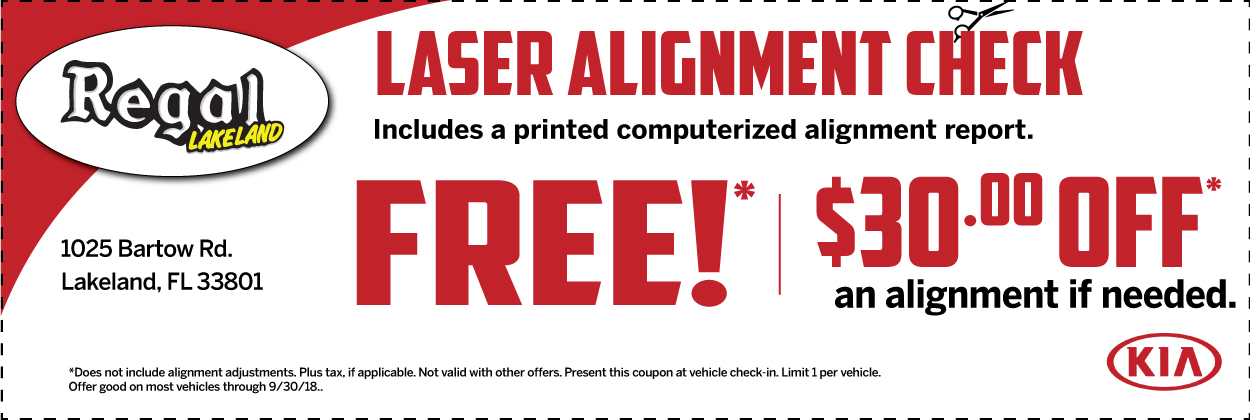 Kia Service And Parts Specials At Regal Kia Serving Winter Haven, Clermont,  Tampa, Kissimmee, And Lake Wales, FL