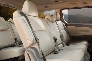 2019 Honda Odyssey passenger space