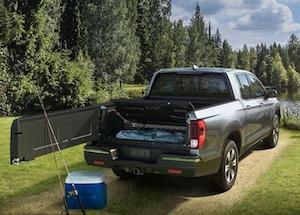 2019 Honda Ridgeline cargo box