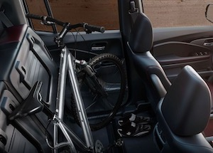 Cargo space in the 2019 Honda RIdgeline