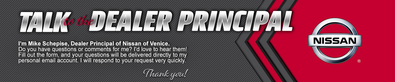 Talk to the Dealer Principal