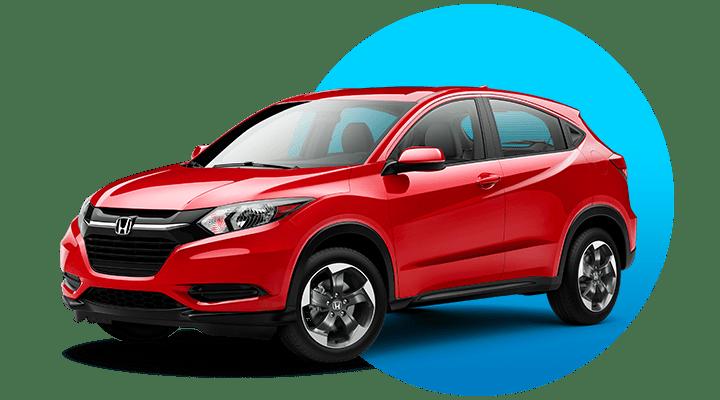 Honda CRV Red Image