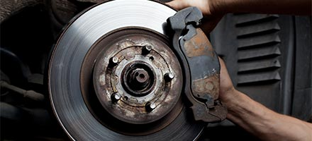 Replace Brake Pads and Resurface Rotors
