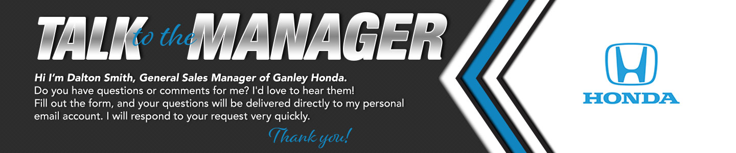 Fairfield Honda Talk to the General Manager