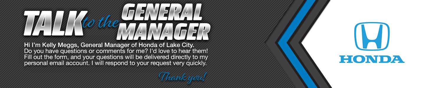 talk to general manager Kelly Meggs
