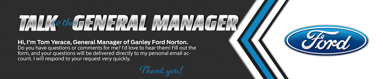 Ganley Ford Norton Talk to the Dealer