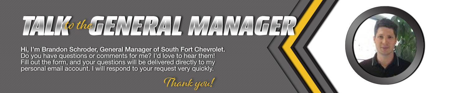 South Fort Chevrolet Talk to the Dealer