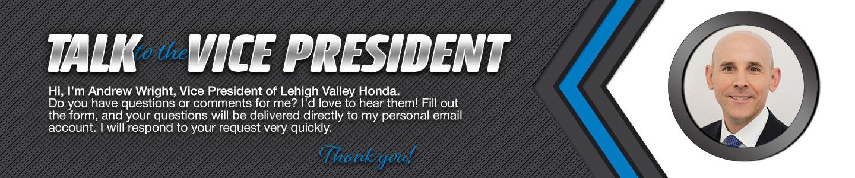 Lehigh Valley Honda Talk to the Dealer