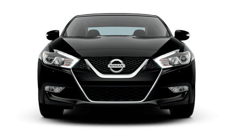 black altima front view